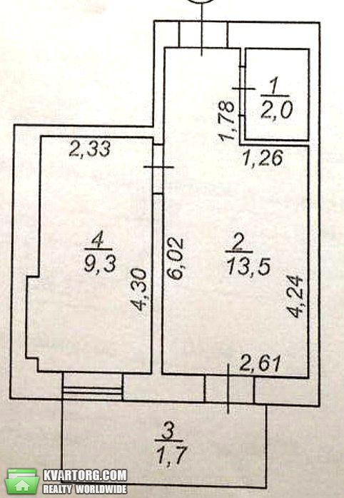 продам 1-комнатную квартиру. Одесса, ул.Разумовская . Цена: 25000$  (ID 1797221) - Фото 1