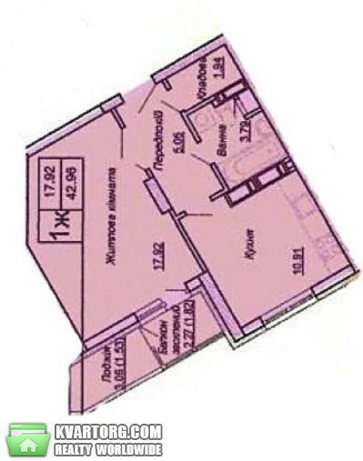 продам 1-комнатную квартиру. Киев, ул. Донца 2а. Цена: 39000$  (ID 1795888) - Фото 4