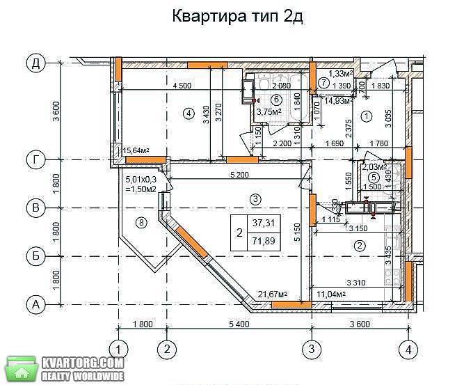продам 2-комнатную квартиру. Киев, ул. Закревского 103. Цена: 36000$  (ID 1794098) - Фото 4