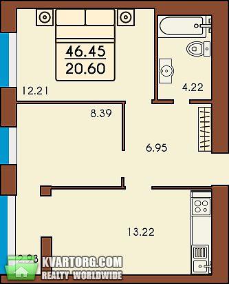 продам 2-комнатную квартиру. Ирпень, ул. Тургеневская . Цена: 18580$  (ID 1796578) - Фото 1