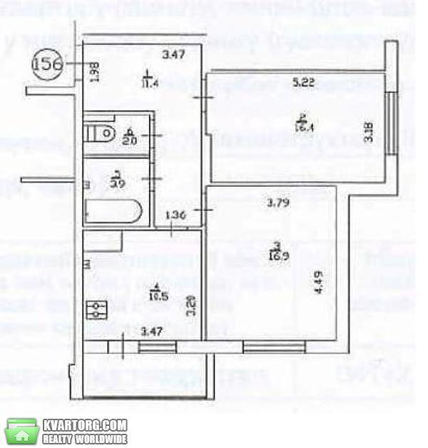 продам 2-комнатную квартиру. Киев, ул.Сикорского 1б. Цена: 118300$  (ID 1794119) - Фото 3