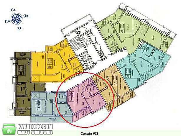 продам 1-комнатную квартиру. Киев, ул. Донца 2а. Цена: 39000$  (ID 1795888) - Фото 3