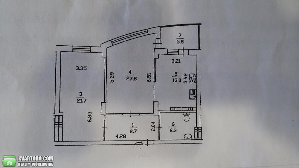 продам 2-комнатную квартиру. Киев, ул. Верховного Совета бул 14б. Цена: 87000$  (ID 1795550) - Фото 9