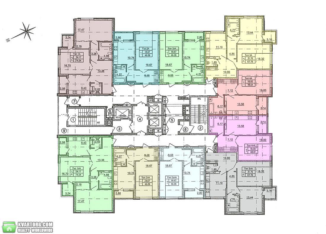 продам 2-комнатную квартиру. Киев, ул. Краковская 27А. Цена: 53800$  (ID 1795513) - Фото 2