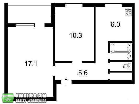 продам 2-комнатную квартиру. Киев, ул. Вершигоры 7а. Цена: 34000$  (ID 1794229) - Фото 4