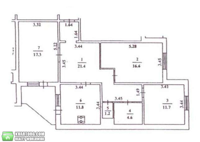 продам 3-комнатную квартиру. Киев, ул. Лаврухина 5. Цена: 48000$  (ID 1795542) - Фото 9