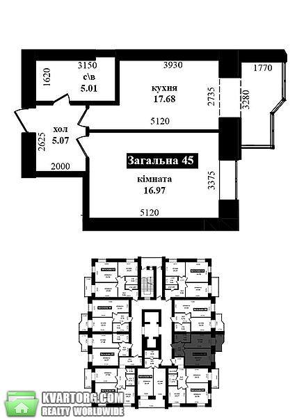 продам 1-комнатную квартиру. Ирпень, ул.Университетская 2л. Цена: 19300$  (ID 1796662) - Фото 1