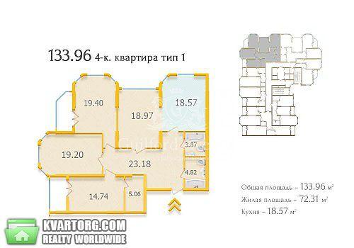 продам 4-комнатную квартиру. Киев, ул.Щорса 34. Цена: 268000$  (ID 1797557) - Фото 4