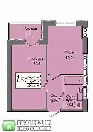 продам 1-комнатную квартиру. Киев, ул.Ленина 10а. Цена: 19$  (ID 1795158) - Фото 1