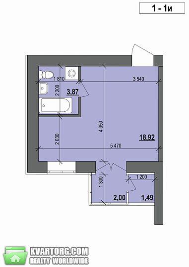 продам 1-комнатную квартиру. Ирпень, ул.Свято-Покровська 73. Цена: 8939$  (ID 1795351)