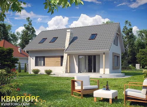 Проект кирпичного дома в европейском стиле