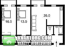 продам 3-комнатную квартиру. Киев, ул. Гончара 79. Цена: 99000$  (ID 1795913) - Фото 3