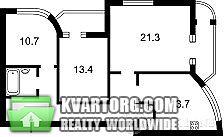 продам 3-комнатную квартиру. Киев, ул. Завальная 10б. Цена: 90000$  (ID 1794711) - Фото 2