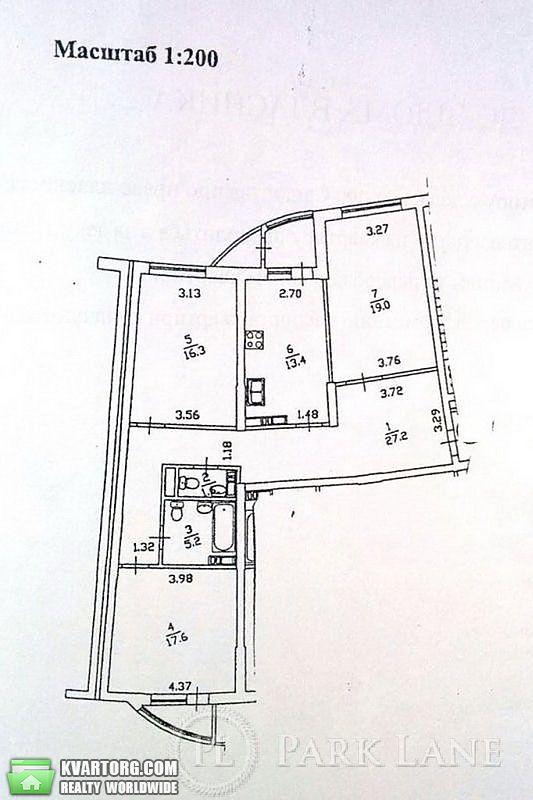 продам 3-комнатную квартиру. Киев, ул. Днепровская наб 25. Цена: 87000$  (ID 1794682) - Фото 2