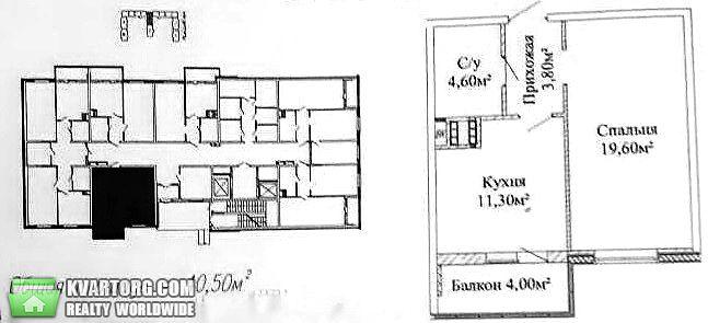 продам 1-комнатную квартиру. Одесса, ул.Михайловская . Цена: 34000$  (ID 2058398)