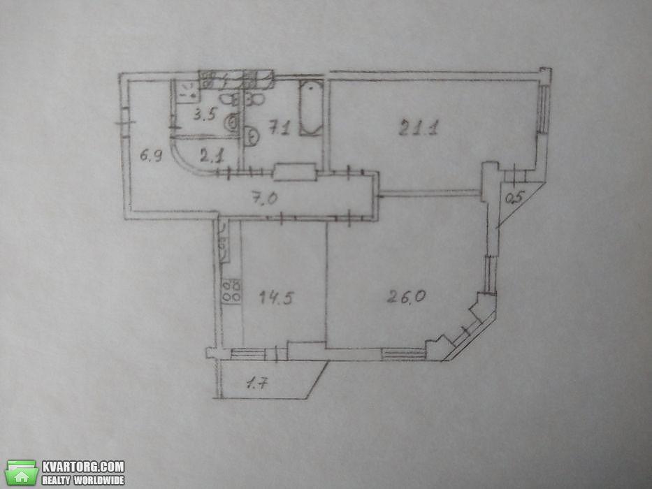 продам 2-комнатную квартиру Киев, ул. Героев Сталинграда пр 53б - Фото 1