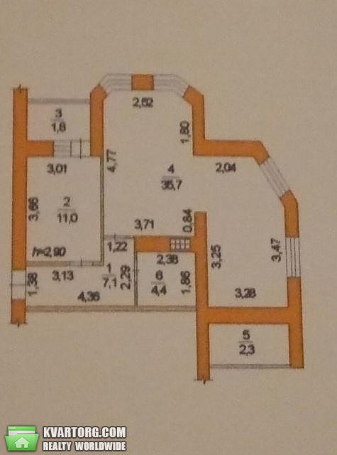 продам 2-комнатную квартиру. Одесса, ул.Вильямса . Цена: 42000$  (ID 2031567) - Фото 7