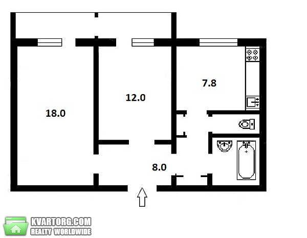 продам 2-комнатную квартиру Киев, ул. Приречная 17г - Фото 4