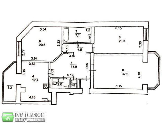 продам 3-комнатную квартиру. Киев, ул. Кропивницкого 8. Цена: 490000$  (ID 2269342) - Фото 9
