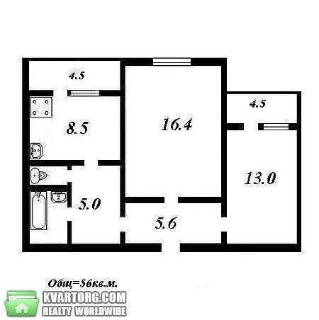 продам 2-комнатную квартиру. Киев, ул. Гришко 10. Цена: 63000$  (ID 2242655) - Фото 2