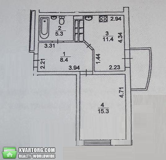 продам 1-комнатную квартиру. Киев, ул. Шумского 3г. Цена: 78000$  (ID 2000917) - Фото 8