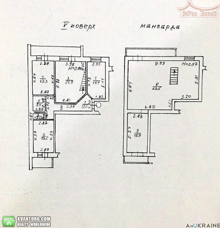 продам 3-комнатную квартиру. Одесса, ул.Старопортофранковская . Цена: 85000$  (ID 2257248) - Фото 3