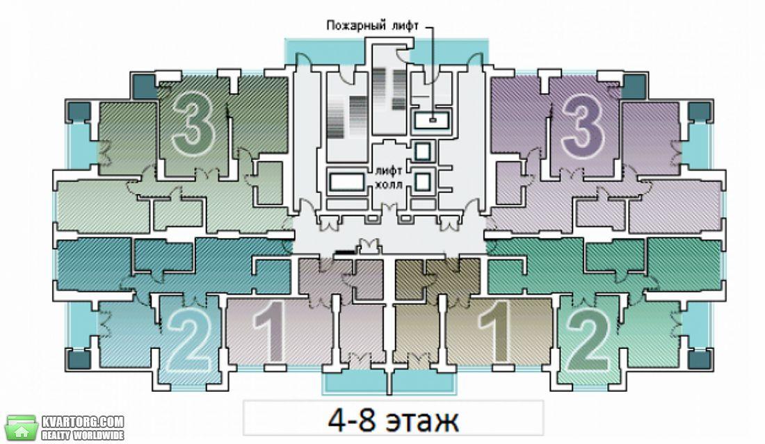 продам 3-комнатную квартиру. Киев, ул. Днепровская наб 1. Цена: 230000$  (ID 2016686) - Фото 3