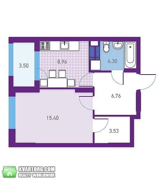 продам 1-комнатную квартиру Киев, ул. Магнитогорская 5 - Фото 1