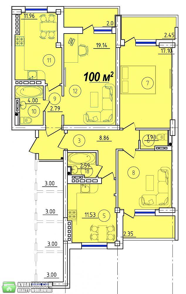 продам 3-комнатную квартиру Одесса, ул.Сахарова - Фото 3