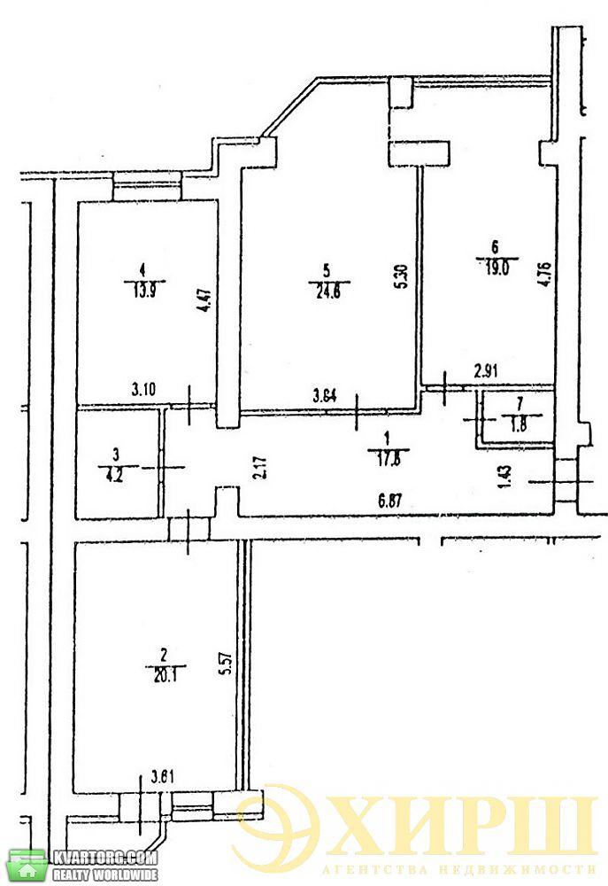 продам 3-комнатную квартиру. Киев, ул. Ломоносова 60/5. Цена: 97000$  (ID 2027677) - Фото 3