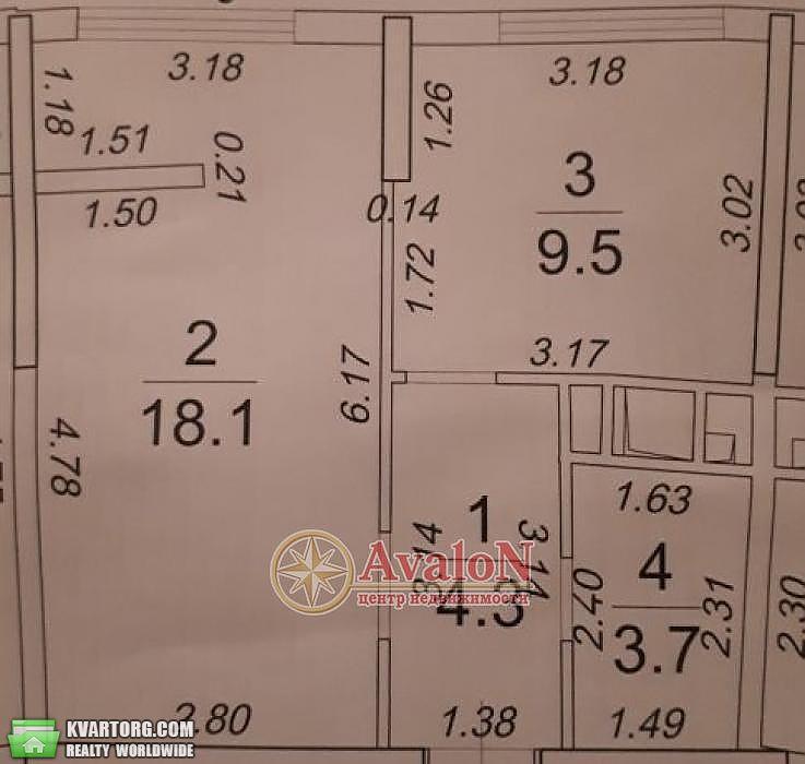 продам 1-комнатную квартиру. Одесса, ул.Каманина . Цена: 43000$  (ID 2085654) - Фото 1