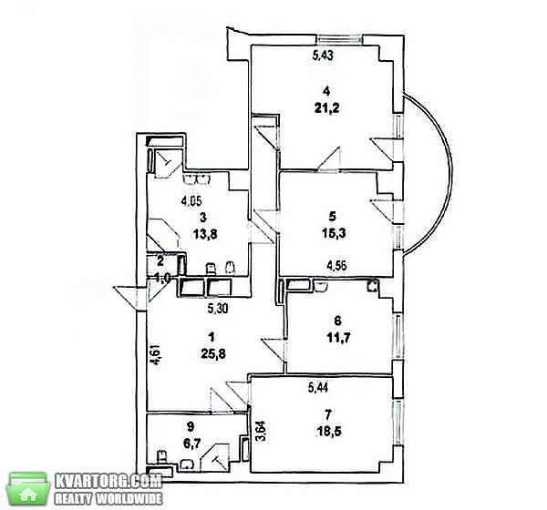 продам 3-комнатную квартиру Киев, ул. Оболонская наб 1 - Фото 1