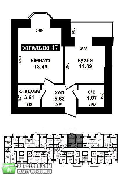 продам 1-комнатную квартиру. Ирпень, ул. Университетская 2ж. Цена: 23500$  (ID 2041311) - Фото 5