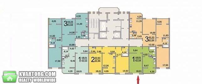 продам 1-комнатную квартиру. Киев, ул.Ломоносова 36б. Цена: 37500$  (ID 2070392) - Фото 2