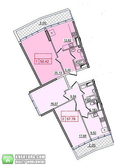 продам 3-комнатную квартиру. Одесса, ул.Генуэзская . Цена: 135250$  (ID 2086533) - Фото 3