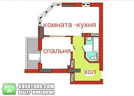 сдам 1-комнатную квартиру Киев, ул. Феодосийская 3в - Фото 10