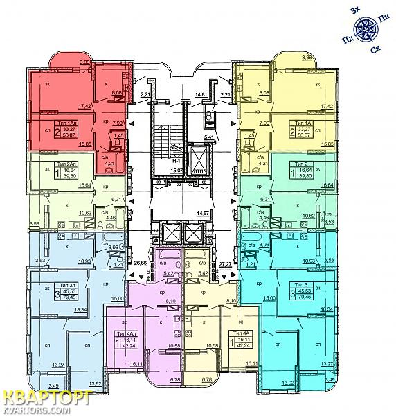 продам 3-комнатную квартиру. Киев, ул.Крушельницкой 15. Цена: 1498000$  (ID 1477436) - Фото 4