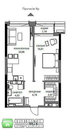 продам 1-комнатную квартиру Киев, ул. Антоновича 136 - Фото 1