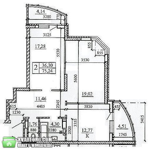продам 2-комнатную квартиру Киев, ул. Драгоманова 40-З - Фото 1
