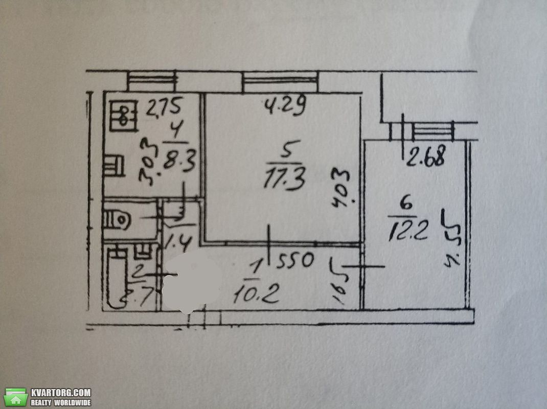 продам 2-комнатную квартиру Киев, ул. Приречная 27г - Фото 8