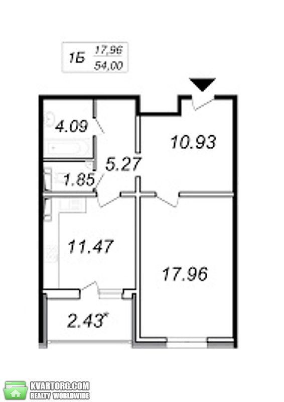 продам 1-комнатную квартиру. Киев, ул.Данченко 1. Цена: 40500$  (ID 2112465) - Фото 4