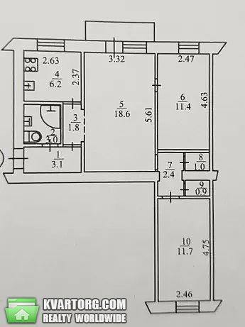 продам 3-комнатную квартиру Киев, ул. Багговутовская 3 - Фото 10