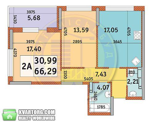 продам 2-комнатную квартиру Киев, ул.Причальная 11 - Фото 4