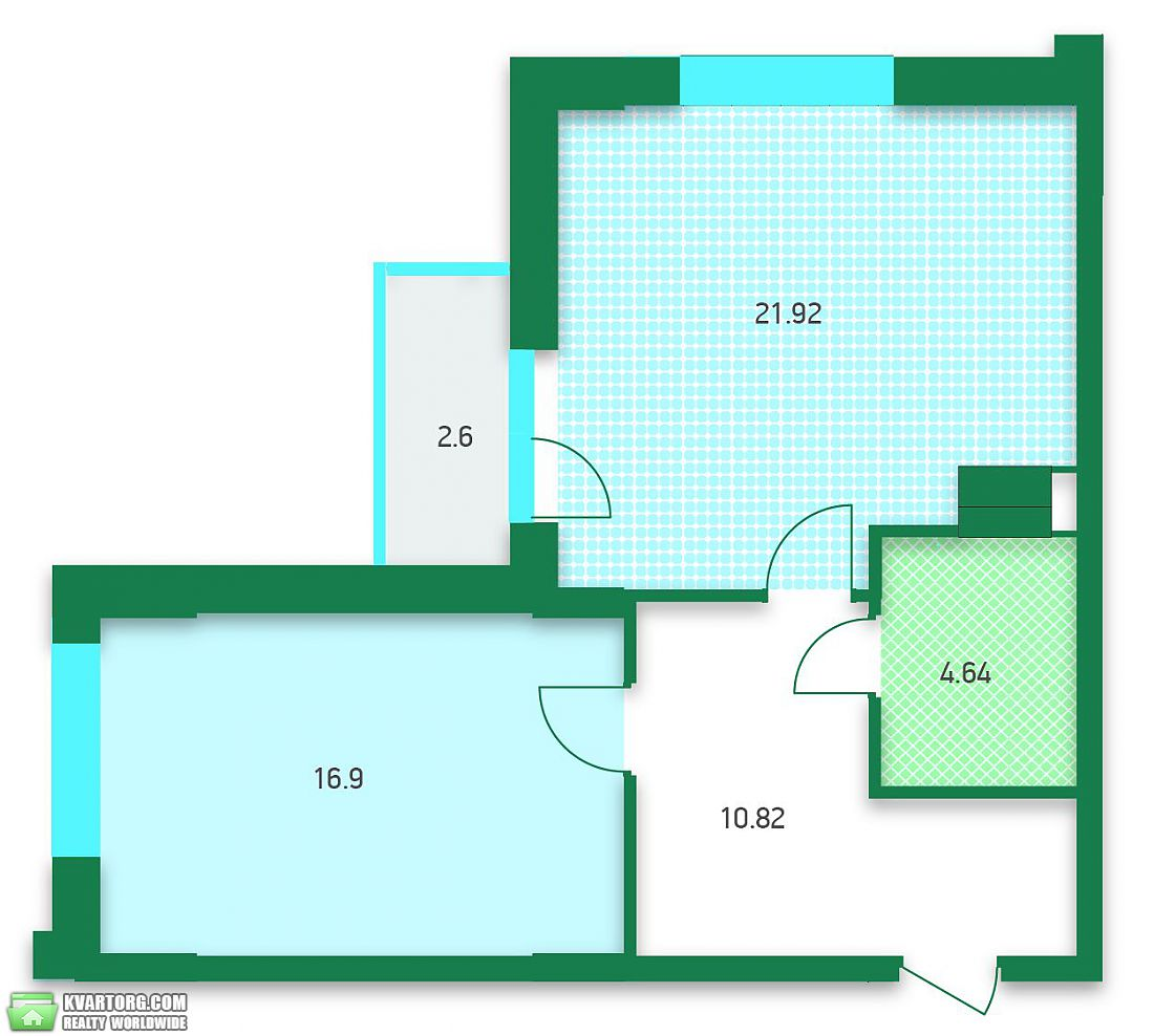 продам 1-комнатную квартиру Киев, ул. Жилянская 26-28 - Фото 7