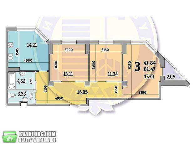 продам 3-комнатную квартиру. Киев, ул. Просвещения 16. Цена: 86000$  (ID 2100306) - Фото 4