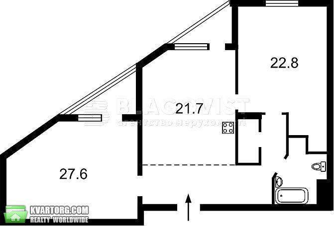 продам 2-комнатную квартиру. Киев, ул.Чорновола 2. Цена: 195000$  (ID 2238434) - Фото 2