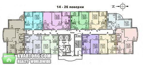 продам 3-комнатную квартиру. Киев, ул. Крушельницкой 15в. Цена: 43000$  (ID 1730141) - Фото 2