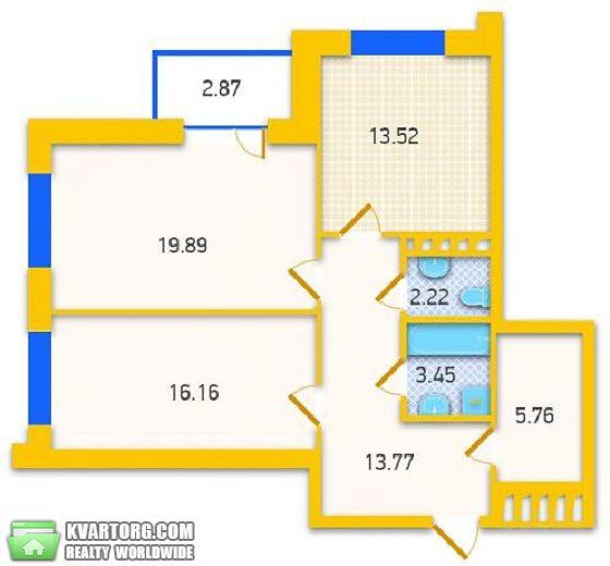 продам 2-комнатную квартиру. Киев, ул. Никольско-Слободская 1. Цена: 110000$  (ID 2085546) - Фото 2