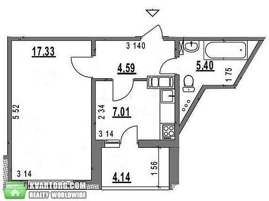 сдам 1-комнатную квартиру. Киев, ул. Чавдар 34. Цена: 350$  (ID 2027681)