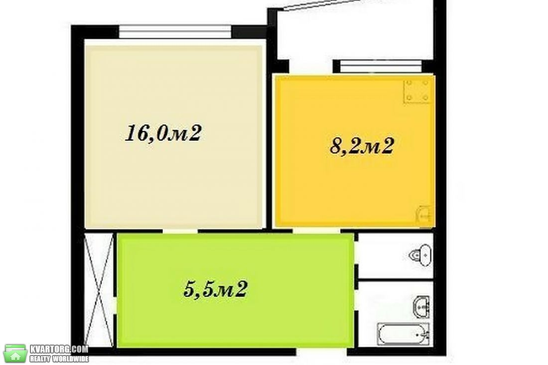 продам 1-комнатную квартиру Киев, ул. Залки 10б - Фото 2